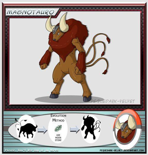 Evolve form of tauros | Pokémon Amino