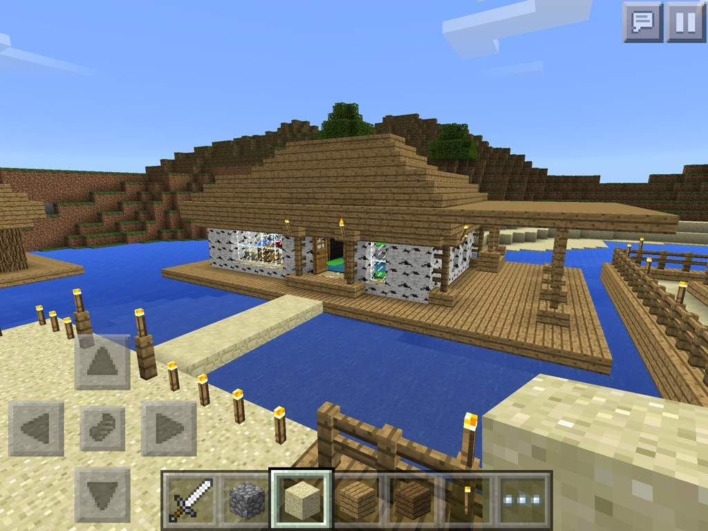 Simple Beach House Minecraft Amino