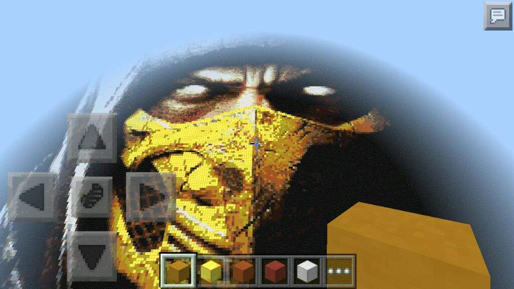 Its A Big Pixel Art Someone Made Its Cool If U Want To See It By Yourself  Download Maps For Minecraft PE ...