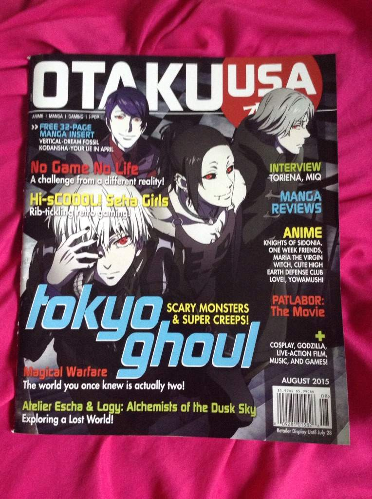 I Got Very Excited Today Seeing A Magazine In Walmart One That Ive Been Reading Every Time Go But Todays Issue Was So Great Just Had To Buy It