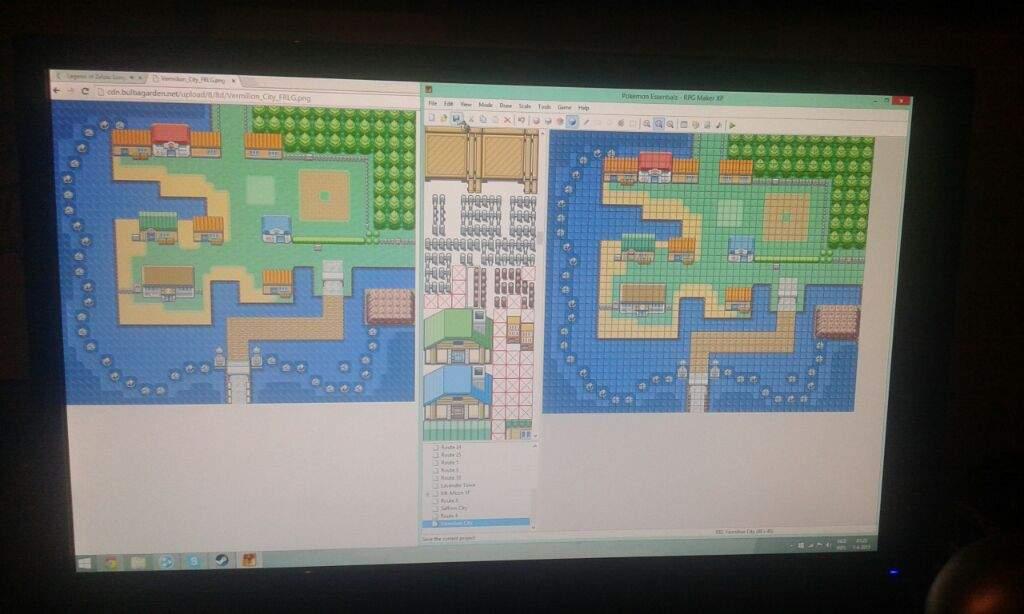Pkm FIRE RED 2 project! NEW MAPS! | Pokémon Amino