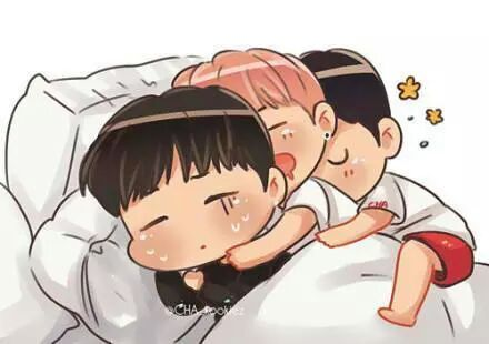 Chibi Pictures Arw Just Too Cute And I Want To Share Some BTS Found On WeHeartit