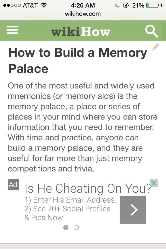 Build Your Mind Palace    With WikiHow!   Sherlock Amino