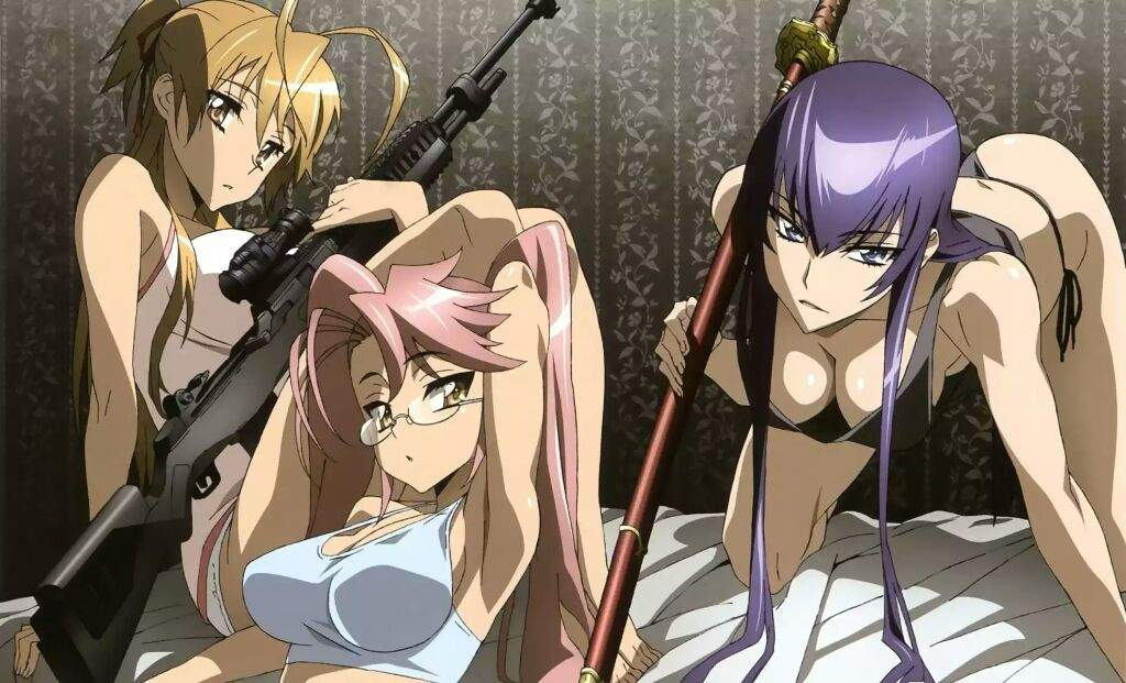 But Highschool Of The Dead Is An Amazing Horror Anime Not Just At Face Value Or In This Case Tit