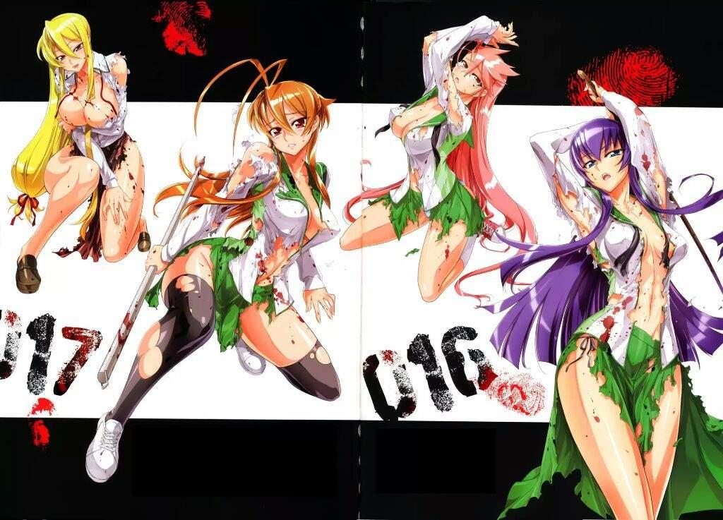 The Horror Genre In Anime Highschool Of Dead