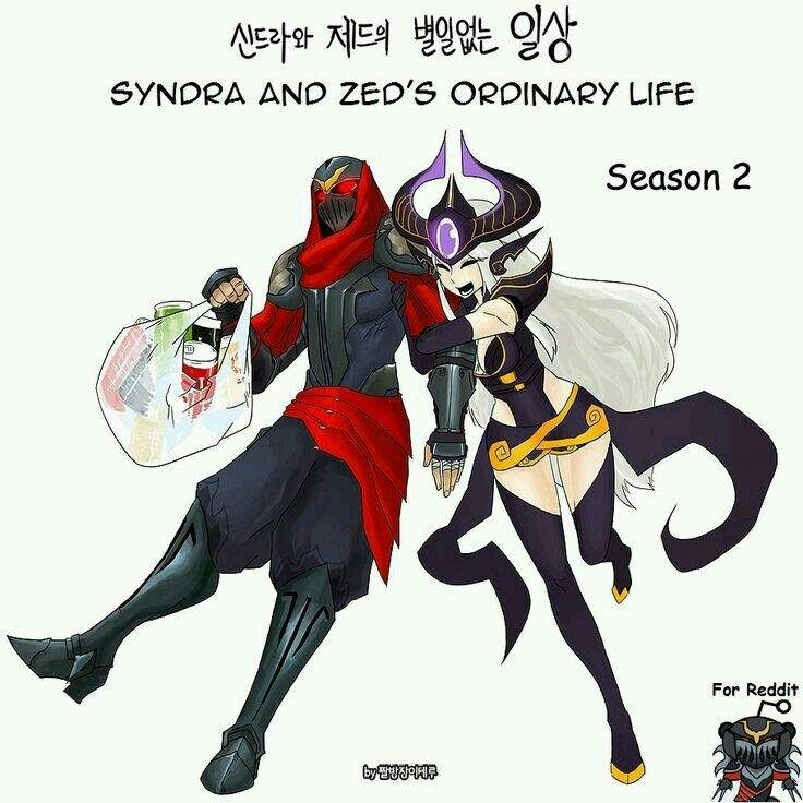 Zed and Syndra: Love 4 Ever   League Of Legends Official Amino