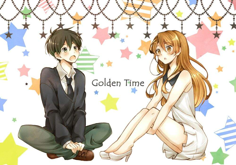 Fan Art For The Anime Golden Time I Didnt Make Any Of This All Rights Go To Artist
