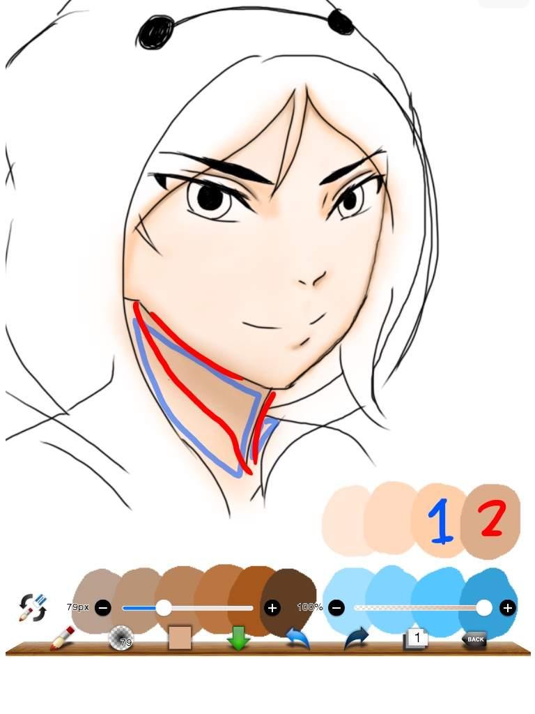 digital coloring shading tutorial part 1 anime amino