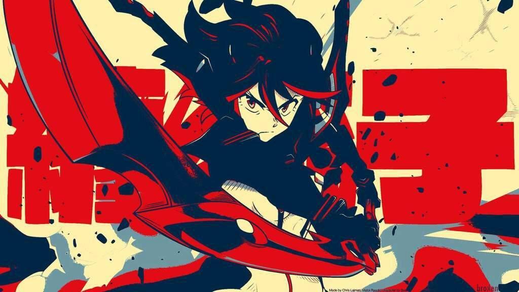 Bilderesultat for kill la kill manga cover