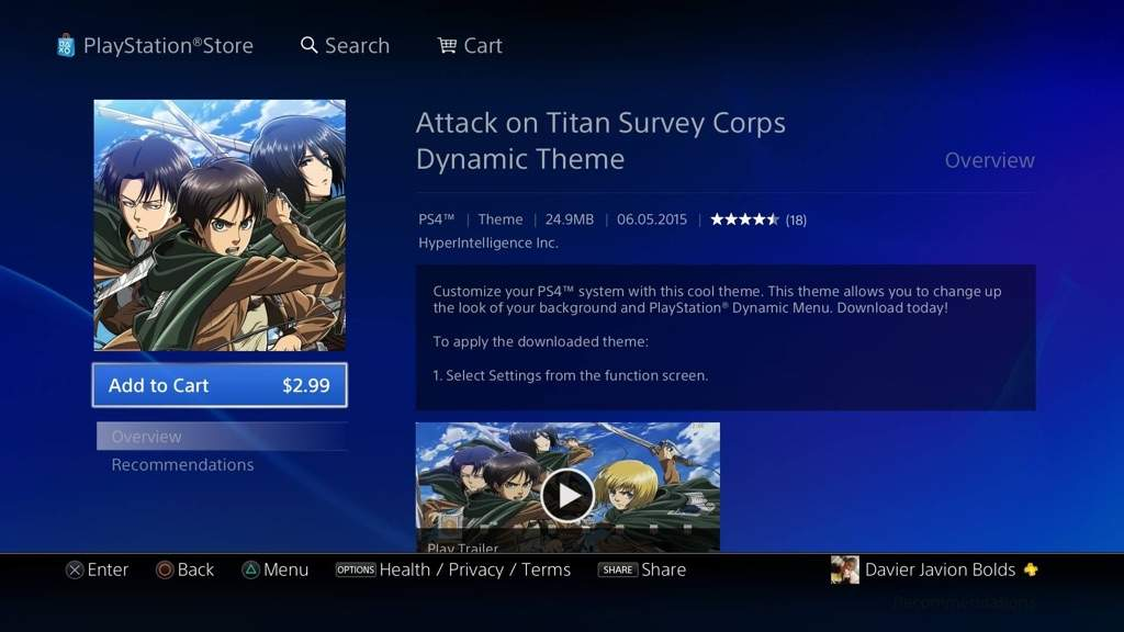 Attack On Titan Ps4 Back Round Anime Amino