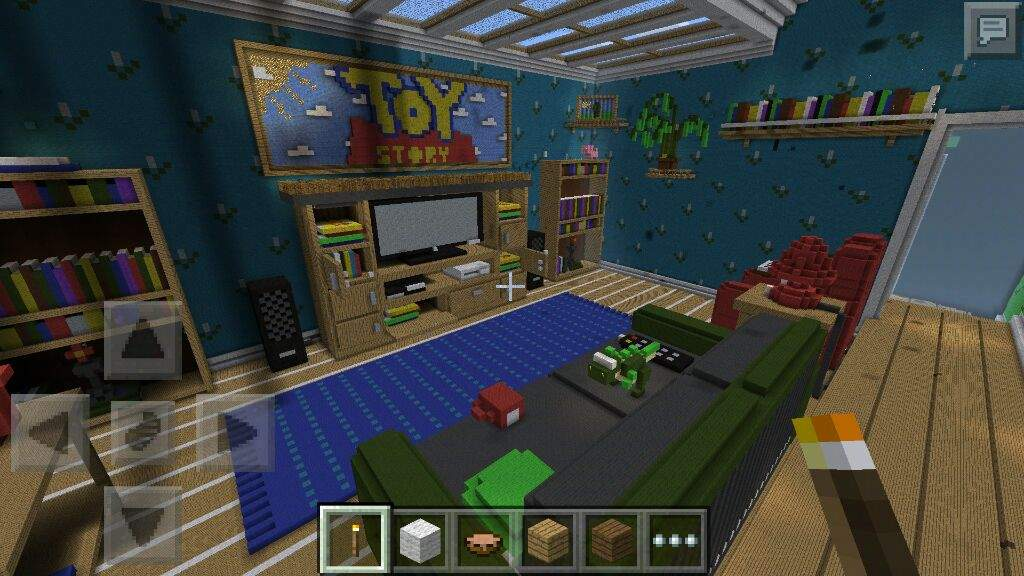 toy story minecraft map