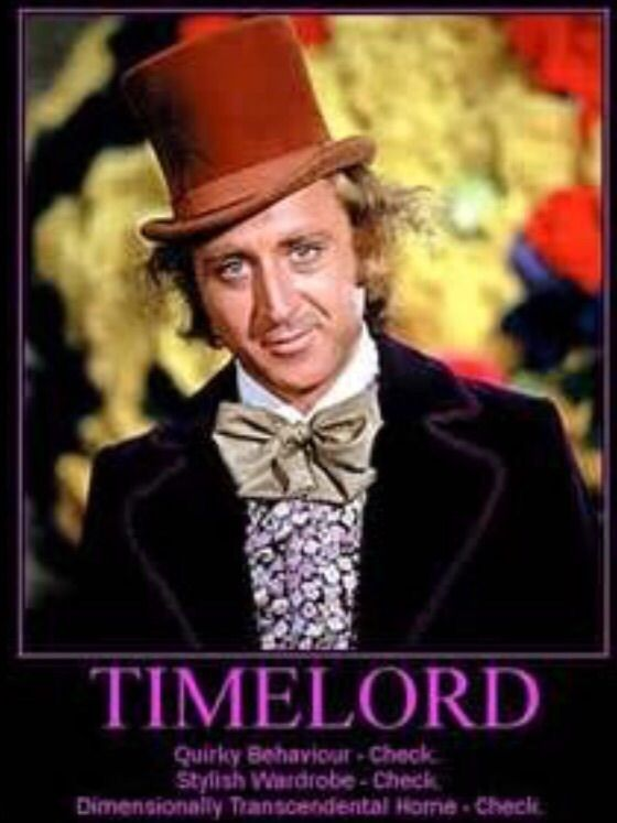 Willy Wonka Is A Timelord
