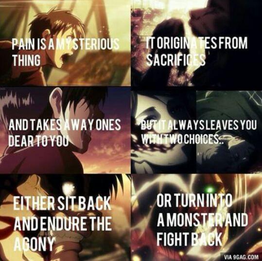 Relatable Badass Anime Quotes Anime Amino