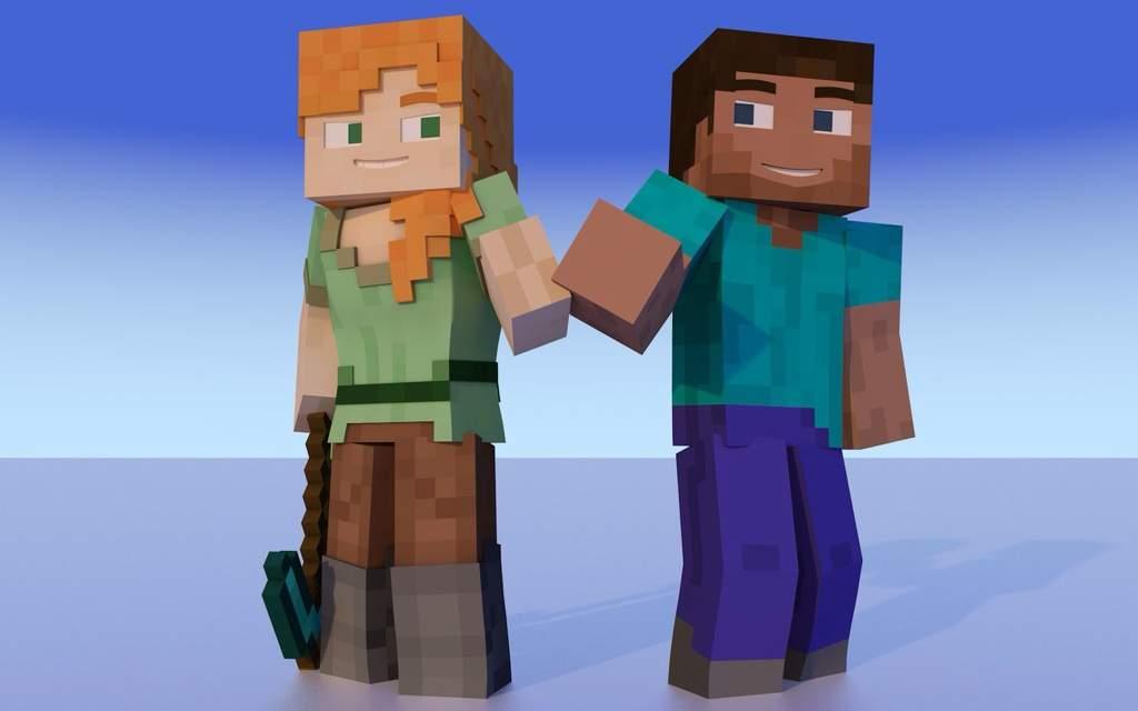 Minecraft Alex MYTH