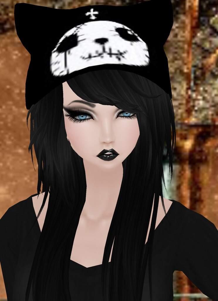 Emo Girl 23 Emo Imvu Outfit  Video Games Amino-6994