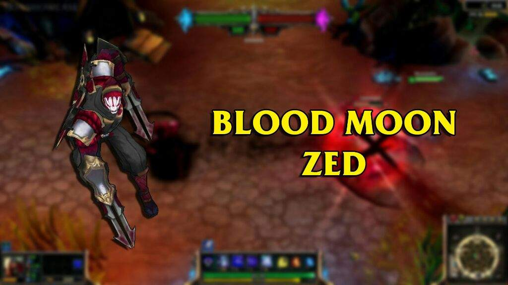 Featuring zed skins league of legends official amino - Blood moon zed ...