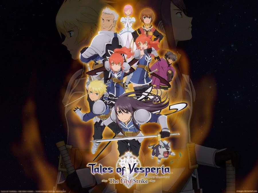 tales of vesperia the first strike watch