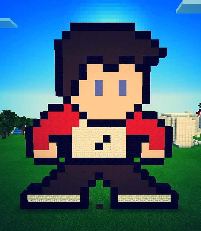 My Minecraft 8bit Skin Minecraft Amino