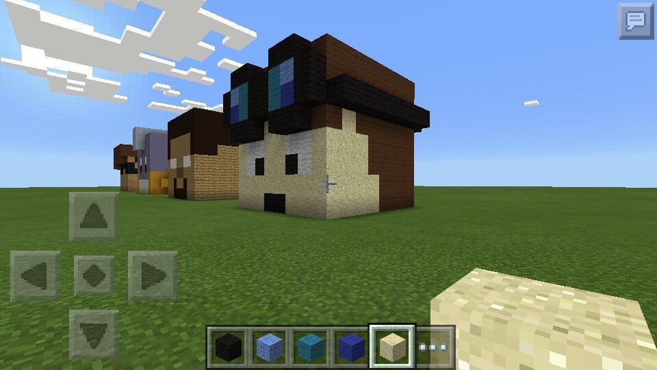 Thediamondminecart Head 3d Pixel Art Minecraft Amino