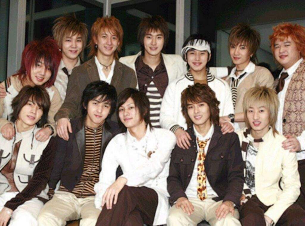 Image result for super junior 2005