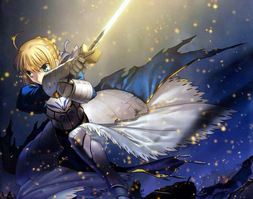 Top ten Swords(wo)men   Anime Amino