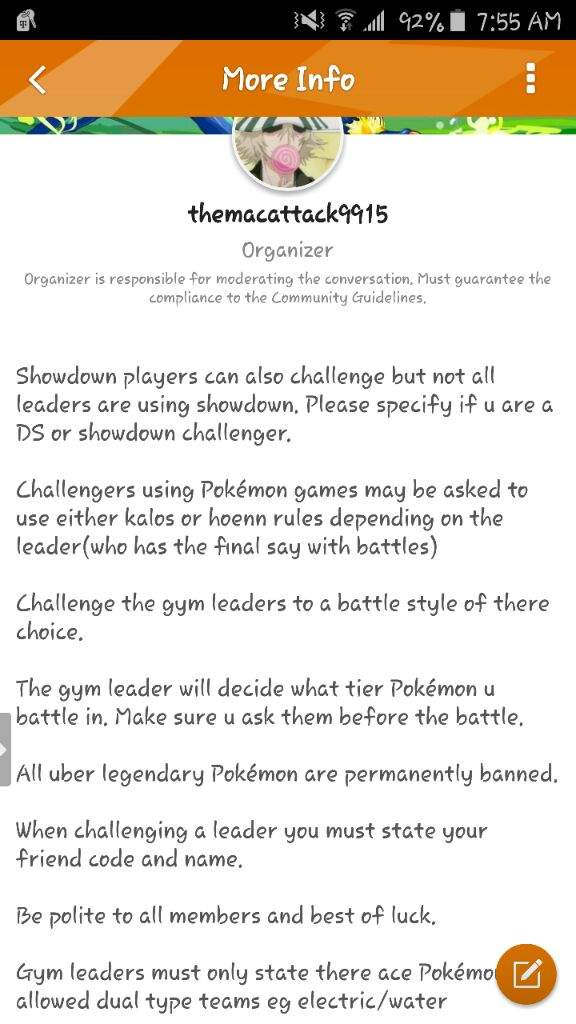 Gym Leader The Absolute League | Pokémon Amino