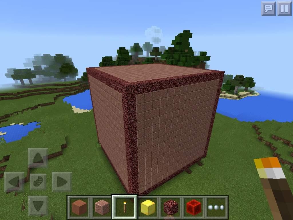 Polished Granite Blocks : Huge blocks polished granite a question minecraft