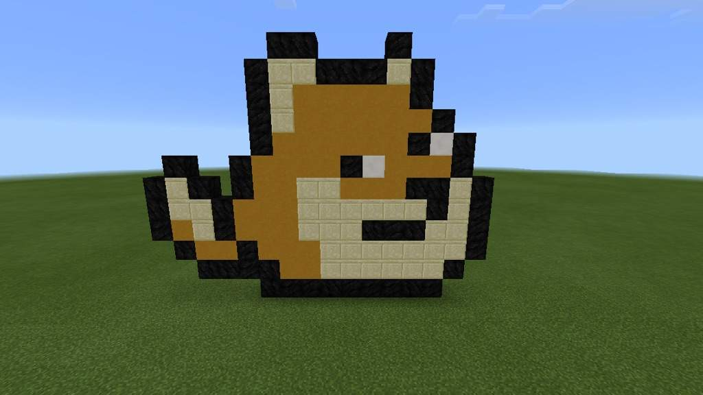 Small Doge Pixel Art