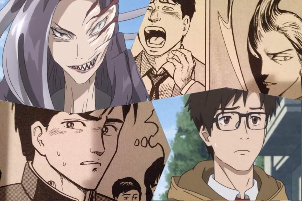 Parasyte The Maxim vs. Parasyte Manga | Anime Amino