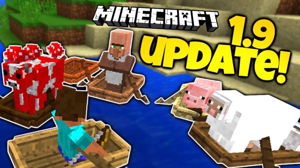 minecraft pc update 1.9