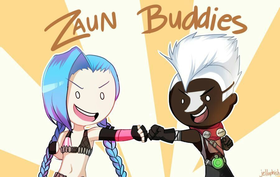 Ekko And Jinx Champion Relationship League Of Legends Official Amino