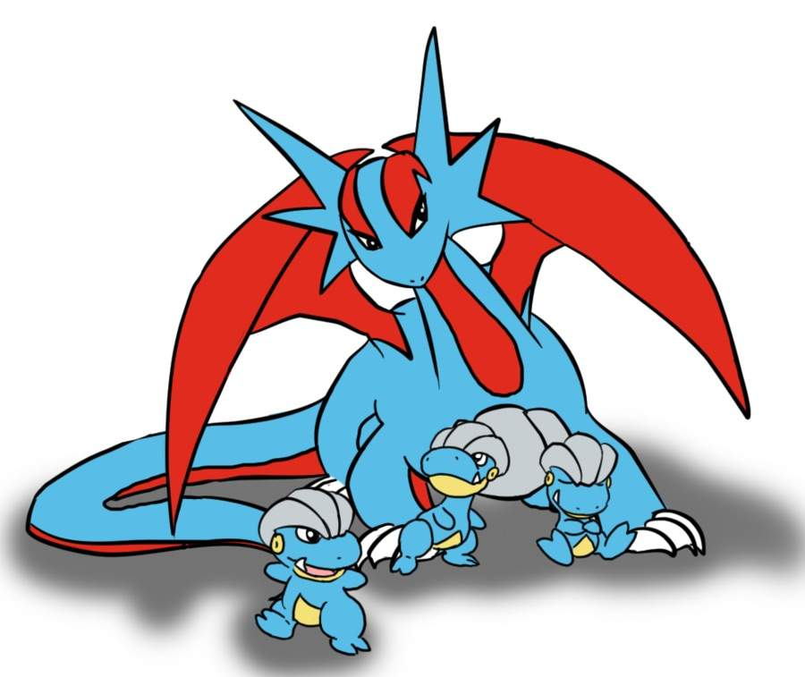 Salamence (Pokémon) - Bulbapedia, the community-driven ...