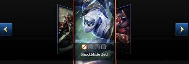 Shockblade Zed Chroma Pack Announcement League Of Legends Official