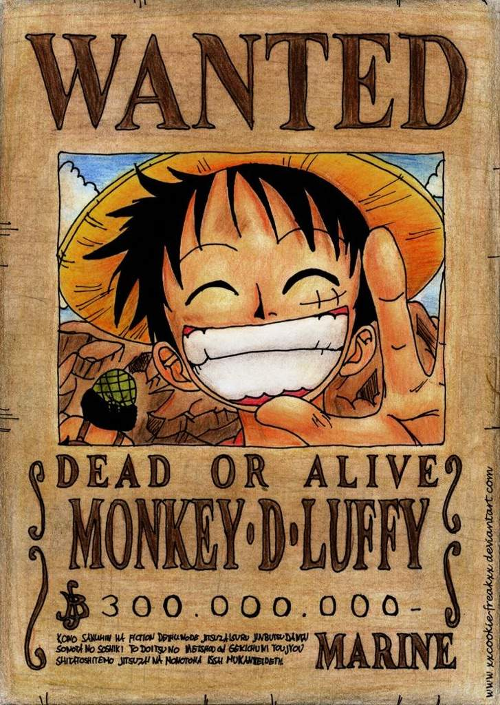 One Piece New Bounties