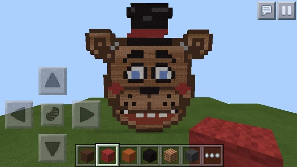 Minecraft Toy Freddy : My toy freddy head creation minecraft amino