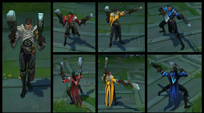 Riot chroma packs are just blue red yellow | League Of