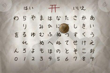 Japanese paranormal games and rituals 1: Kokkuri-san | Anime