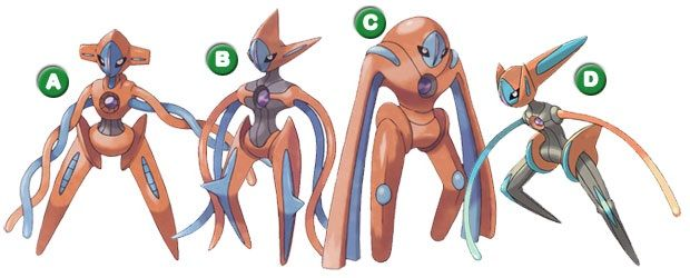 Which One Is Your Favourite Deoxys Form? | Pokémon Amino