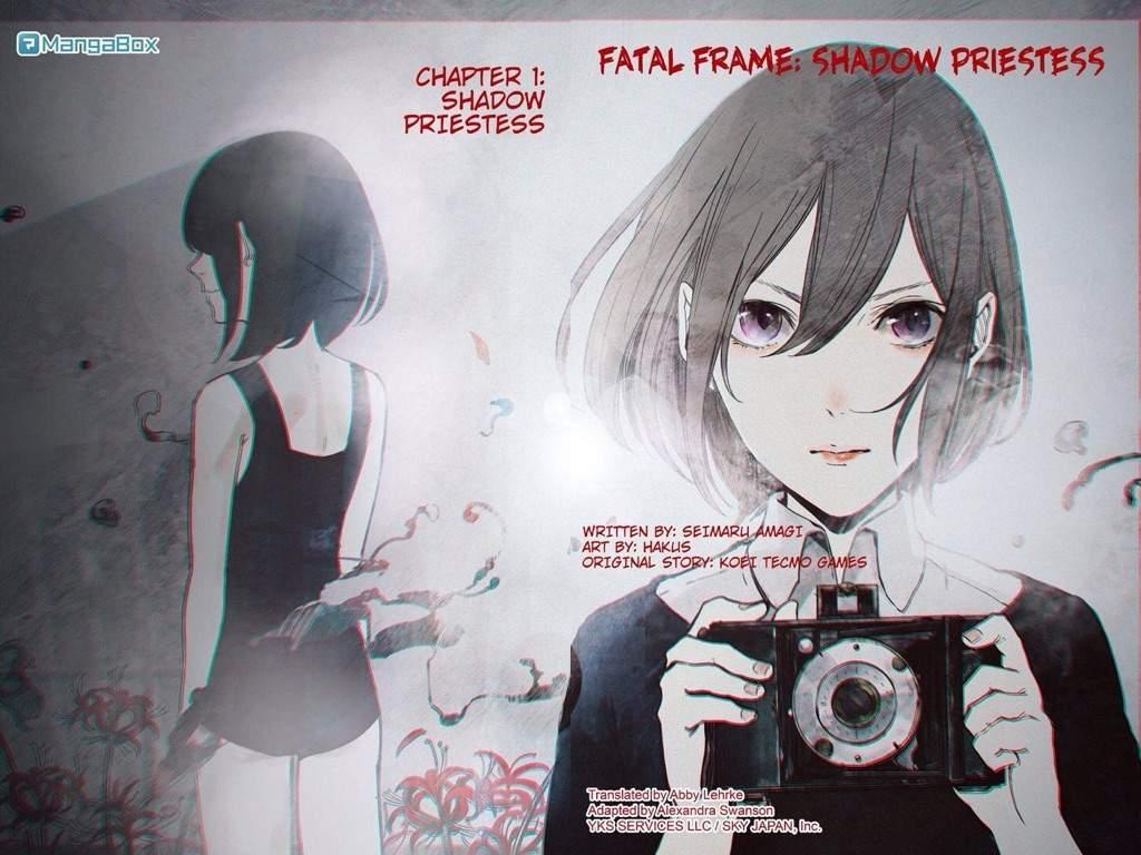 🕒Fatal Frame: Shadow Priestess🕒 (Currently reading) 📷 | Anime Amino