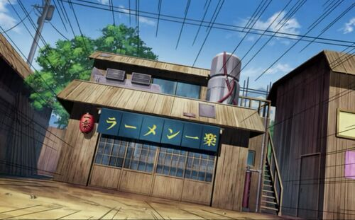 The Famous And Fairly Small Restaurant In Konohagakure Which Has Been Around For About 34 Years Name Loosely Translates To Ramen Is Best Pleasure