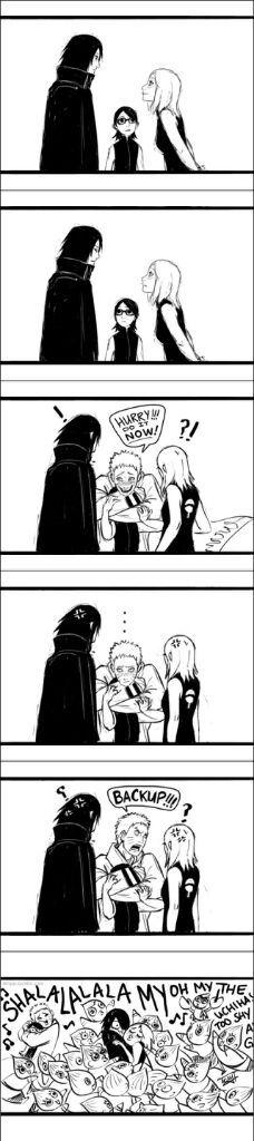 Sasuke Sakura Moment In Naruto Manga Chapter 710 Anime Amino