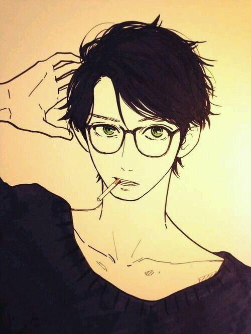 Manga Boy Glasses