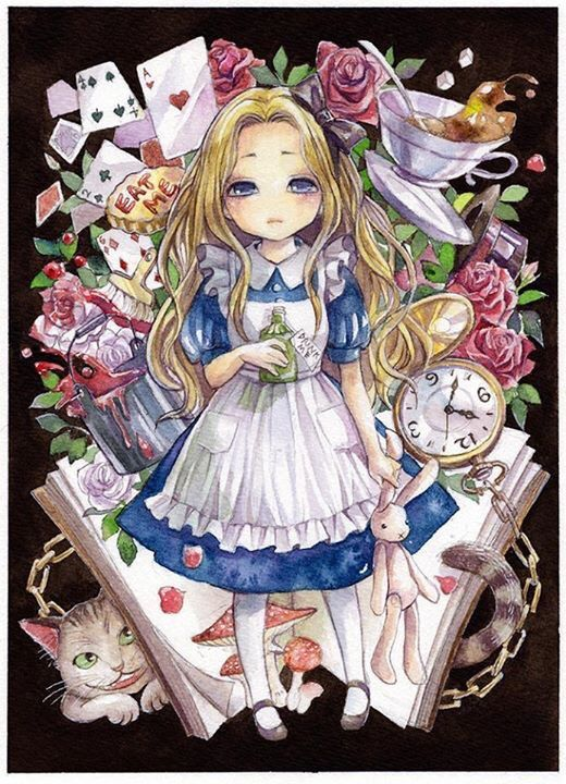 Alice In Wonderland A Deeper Look Anime Amino