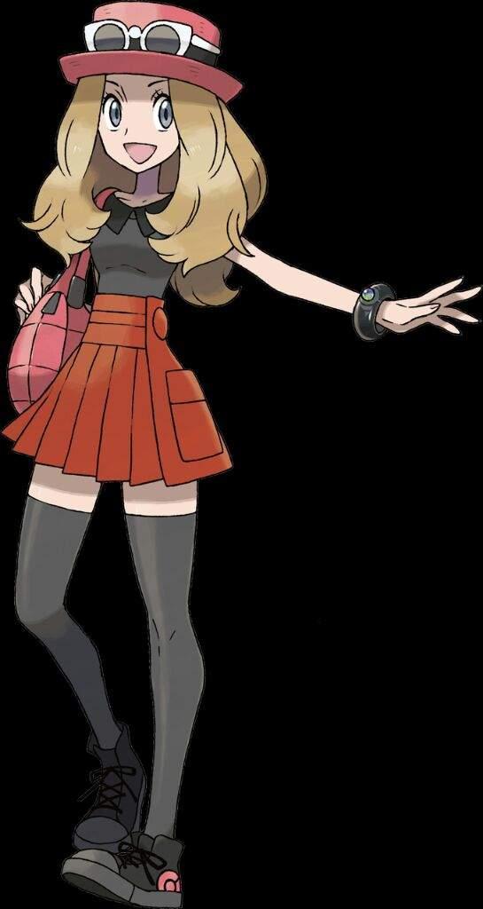 Pokemon X And Y Serena Rival