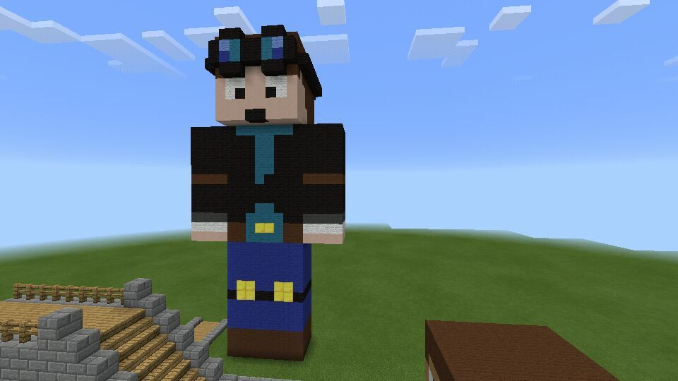 How To Build Youtubers Heads In Minecraft