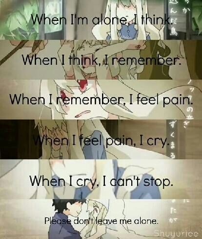 Sad Quoted Anime Amino