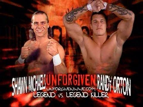 Rivarly rewind 20 shawn michels vs randy orton wrestling amino wwe randy orton vs shawn michaels unforgiven 2003 promo m4hsunfo Image collections