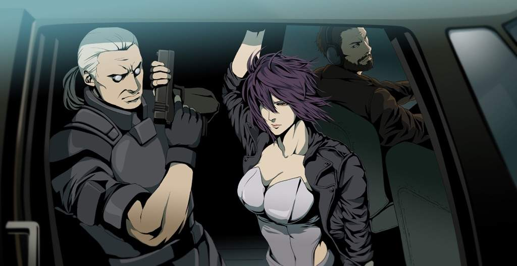 Kết quả hình ảnh cho Ghost in the Shell: Stand Alone Complex
