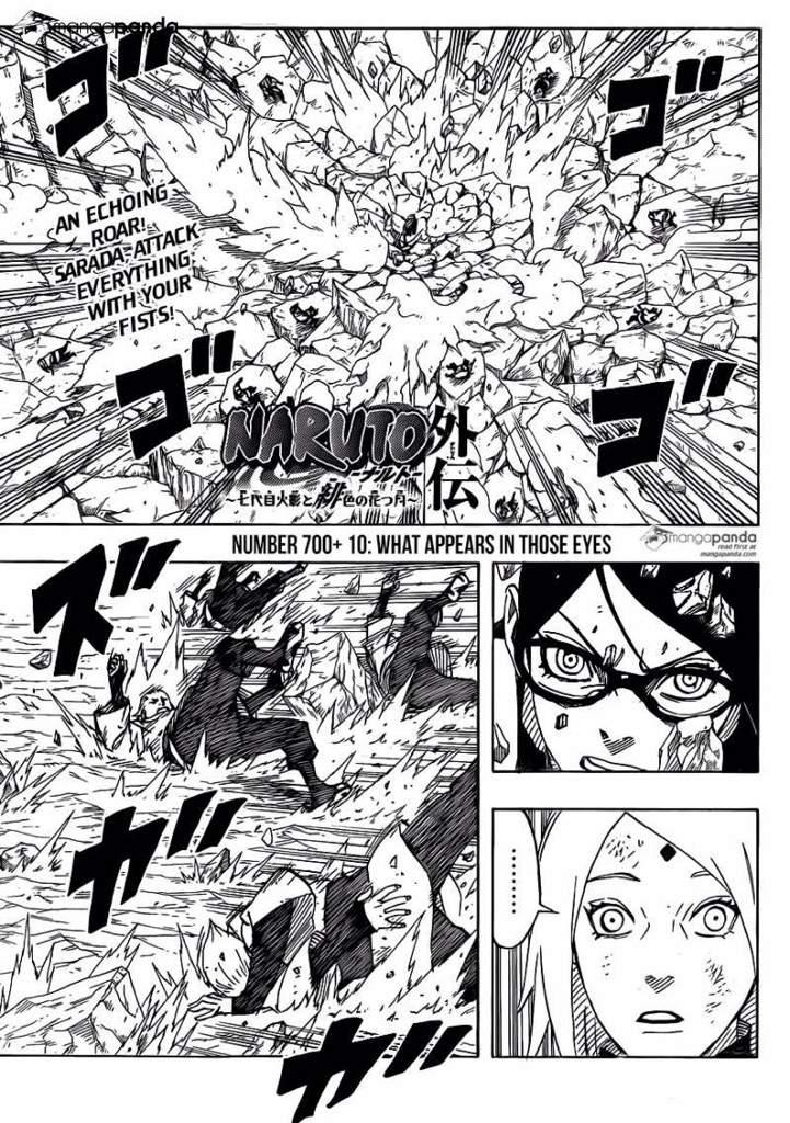 New Manga Naruto Bruto