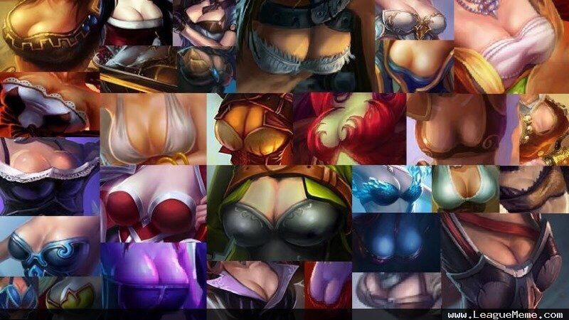 league of legends boobs poll